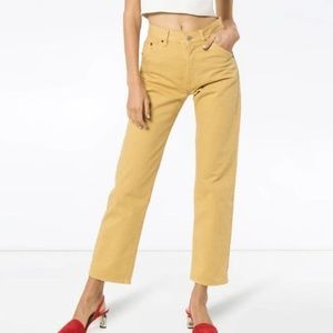 Jacquemus cropped jeans NWT